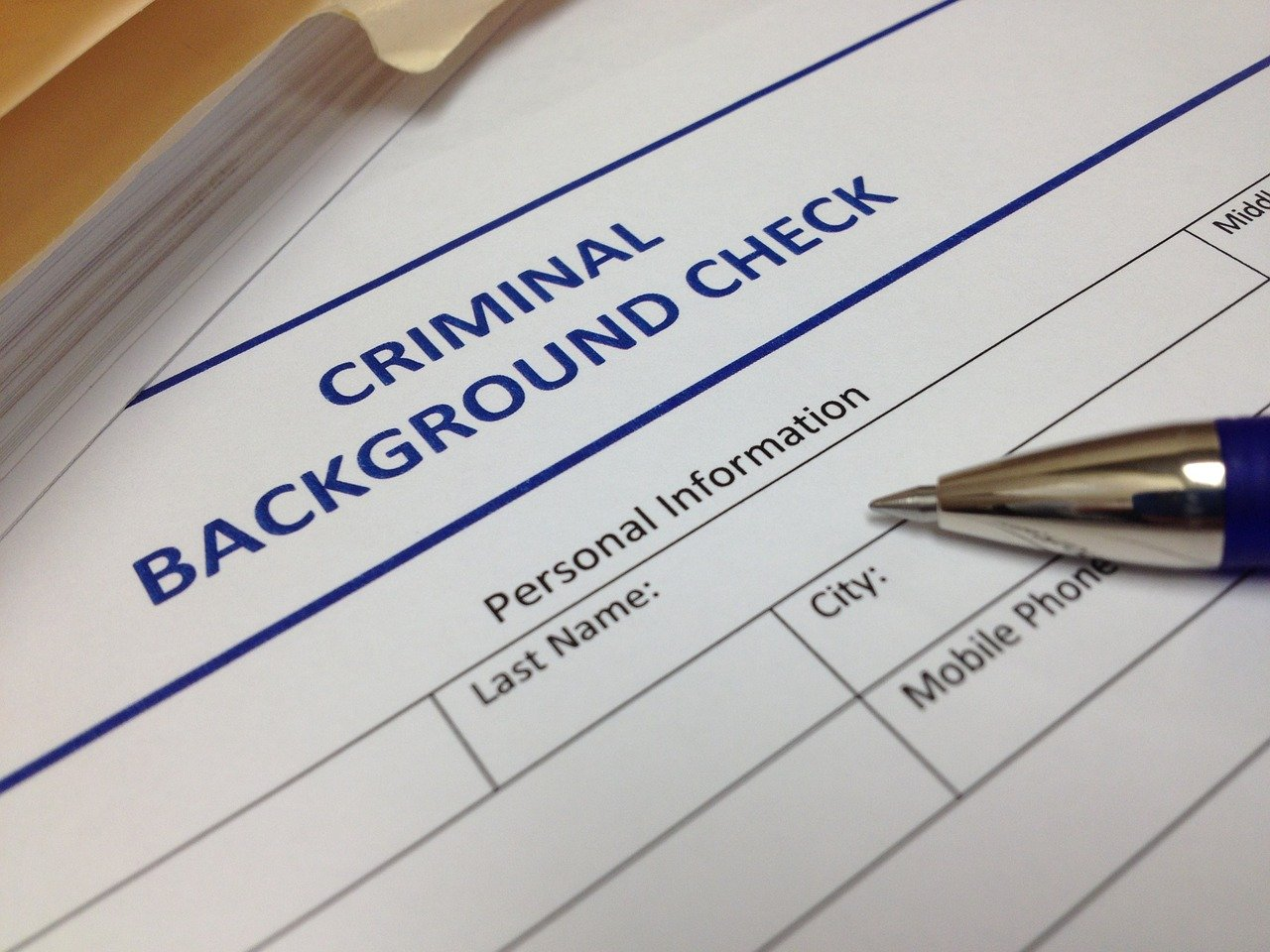 Background check services are high risk